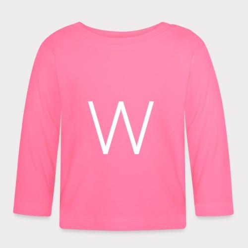 White W - Baby Long Sleeve T-Shirt