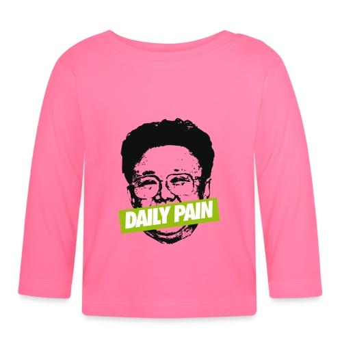 daily pain cho - Koszulka niemowlęca z długim rękawem