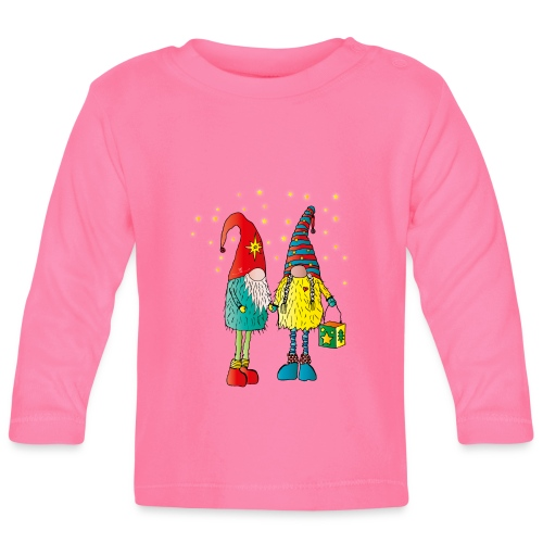 Weihnachtswichteln - Baby Langarmshirt