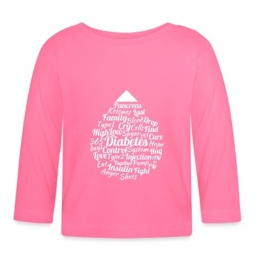 CURE DIABETES - Baby Long Sleeve T-Shirt