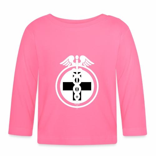 Medical Symbol - Baby Langarmshirt