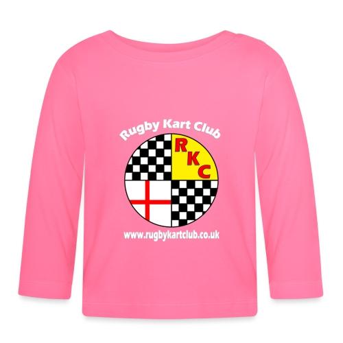 RKC logo with web address - Baby Long Sleeve T-Shirt