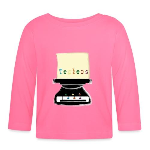 tecleos - Camiseta manga larga bebé