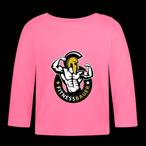 logo fitnessbauer 001 rgb neu - Baby Langarmshirt