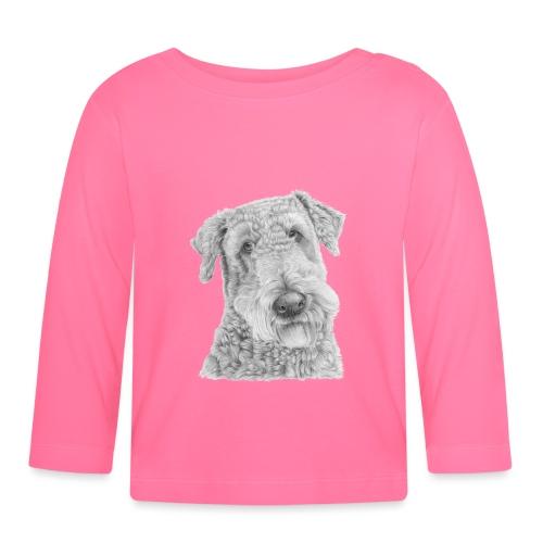 airedale terrier - Langærmet babyshirt