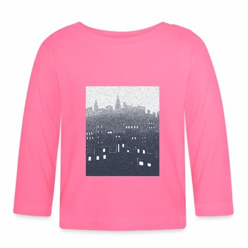 citysnow rectangle - T-shirt manches longues Bébé