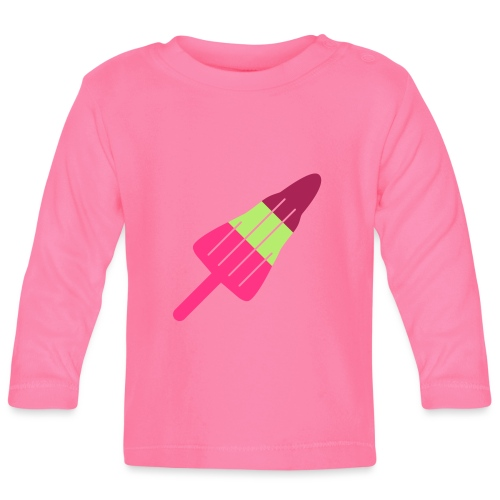 ZOOM ROCKET LOLLY choose your own flavours! - Baby Long Sleeve T-Shirt