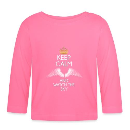 Keep Calm - Koszulka niemowlęca z długim rękawem