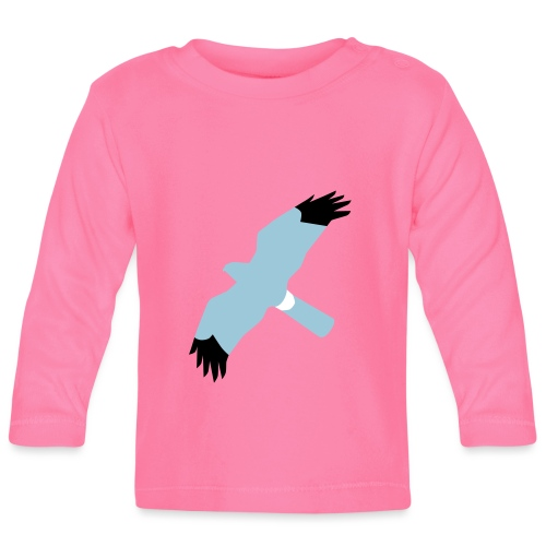 BAWC HHD Splat Design v3F - Baby Long Sleeve T-Shirt