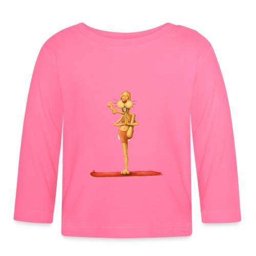Yoga - Rabbit - Baby Langarmshirt
