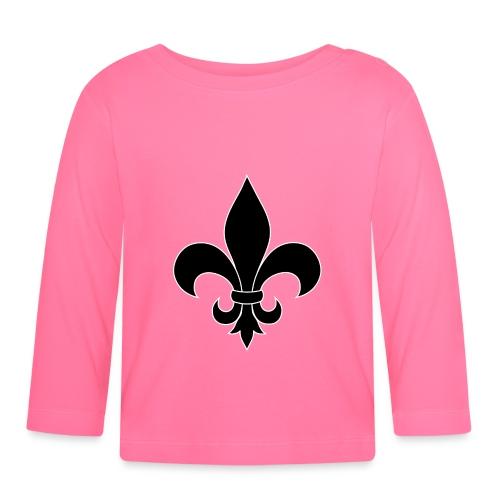 ranskan lilja - Vauvan pitkähihainen paita
