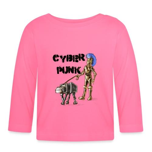 cyberpunk - Maglietta a manica lunga per bambini