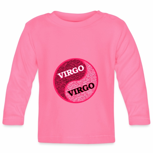 Virgo and Virgo Zodiac Sign Woman Love Mug - Baby Long Sleeve T-Shirt