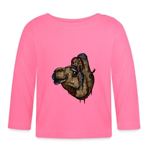 Kamel - Langarmet baby-T-skjorte