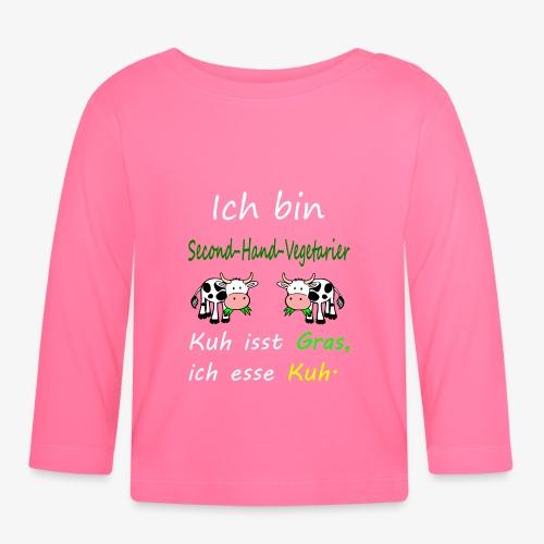 ich liebe kühe - Baby Langarmshirt