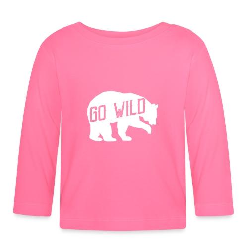 Go Wild - Baby Langarmshirt