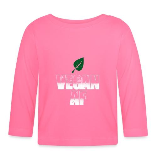 Vegan AF - Baby Langarmshirt