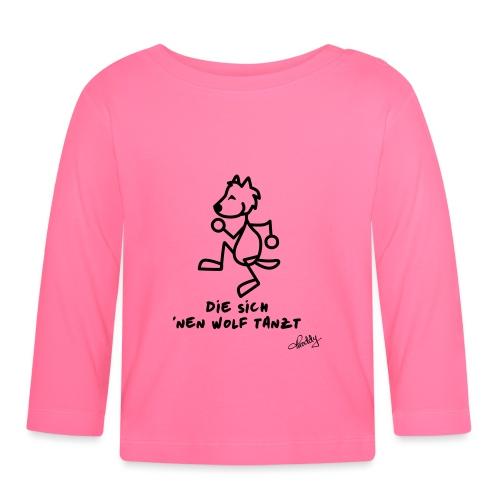 Die sich nen Wolf tanzt - Baby Langarmshirt