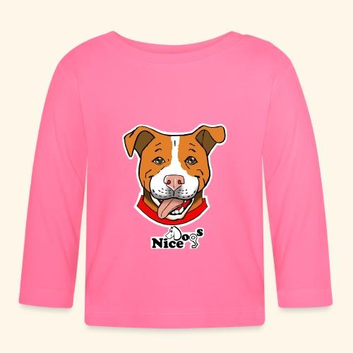 pitbull2 - Maglietta a manica lunga per bambini