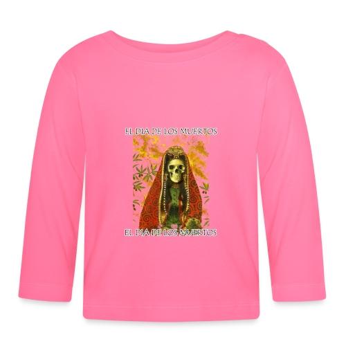 El Dia De Los Muertos Skeleton Design - Baby Long Sleeve T-Shirt