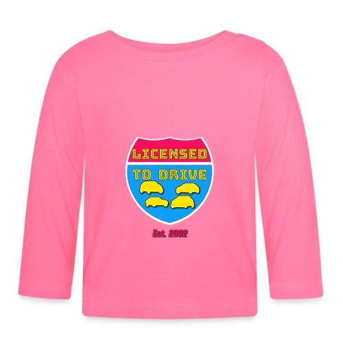 licensed to drive t-shirt 2002 - T-shirt manches longues Bébé