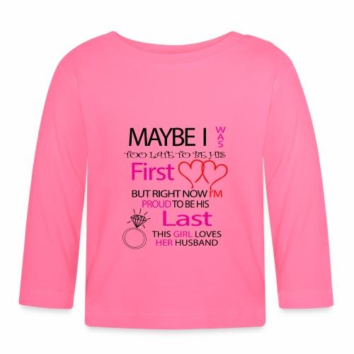 Ich liebe meinen Mann - Geschenkidee - Baby Long Sleeve T-Shirt
