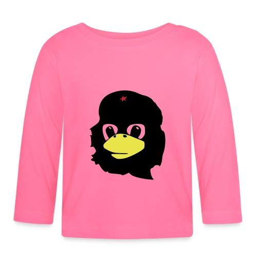 Tux Linux Che Guevara - Koszulka niemowlęca z długim rękawem