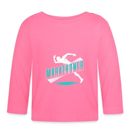 Marathoner - Baby Langarmshirt