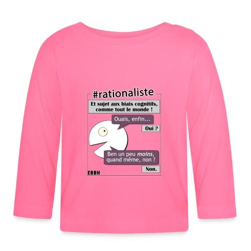 Rationalisme et biais cognitifs - T-shirt manches longues Bébé