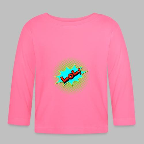 comicblase lol Ausdruck Comicstyle - Baby Langarmshirt