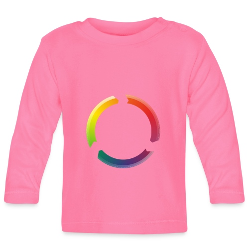 the circle is perfect,la circle de bonheur - T-shirt manches longues Bébé
