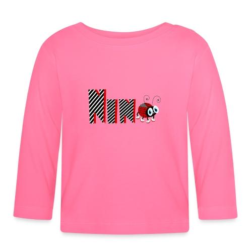 9nd Year Family Ladybug T-Shirts Gifts Daughter - Baby Langarmshirt