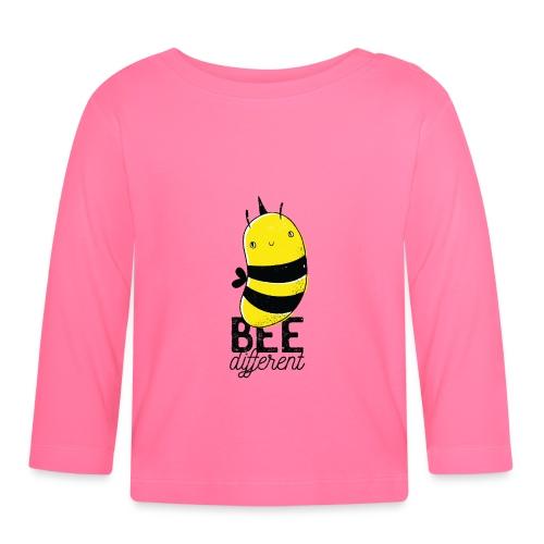 Bee different Biene mit Stachel - Baby Langarmshirt