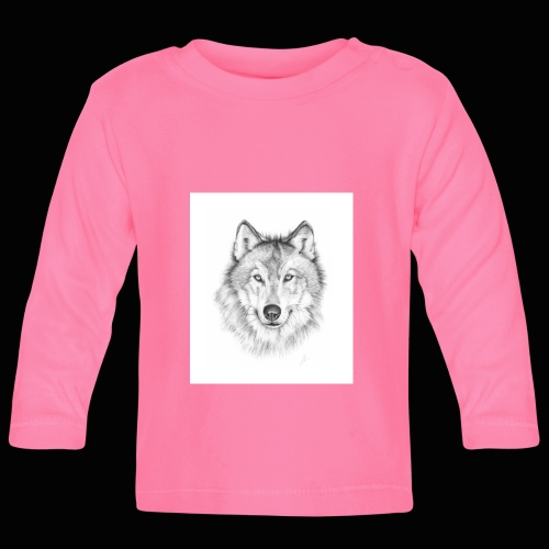 Wolf - Langærmet babyshirt
