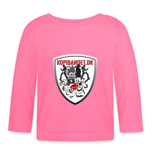 KopiBandet.DK Våbenskjold - Langærmet babyshirt