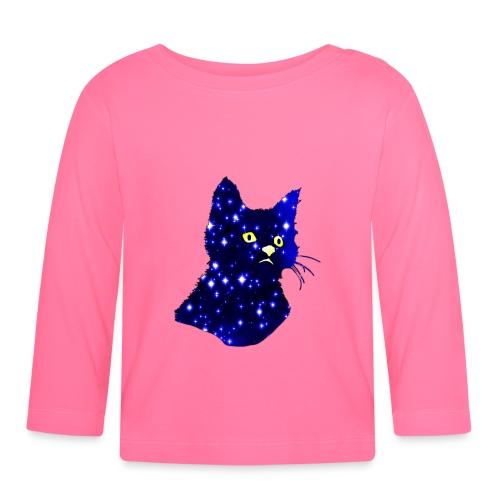 Galactic Cat - T-shirt manches longues Bébé