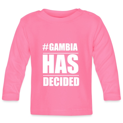 GAMBIA_HAS_DECIDED - Baby Long Sleeve T-Shirt