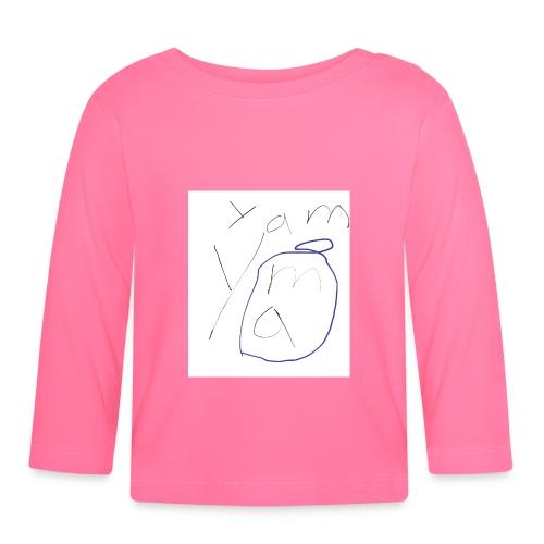 Yam yam t-shirt - Baby Langarmshirt