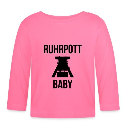 RUHRPOTT BABY - Deine Ruhrpott Stadt - Baby Langarmshirt
