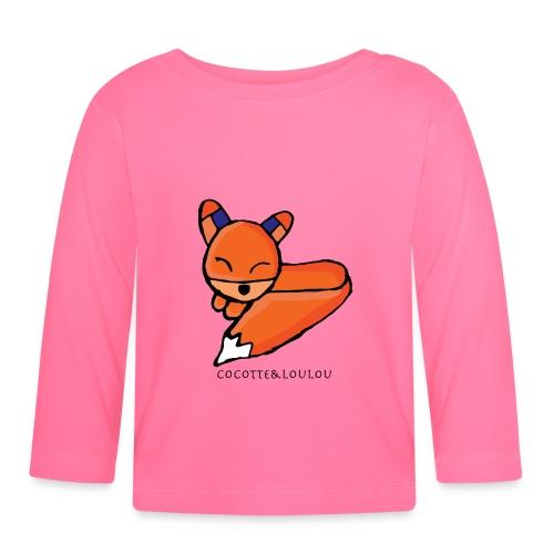 Edo le renard - T-shirt manches longues Bébé