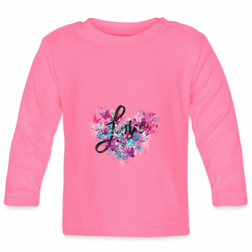 Love with Heart - Baby Long Sleeve T-Shirt