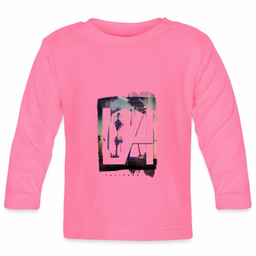 LA California - Baby Long Sleeve T-Shirt