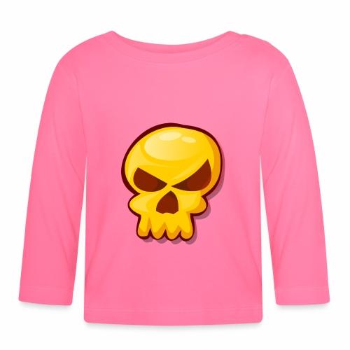 Golden Skull - Camiseta manga larga bebé