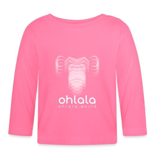 Ohlala Vibra WHITE - T-shirt manches longues Bébé