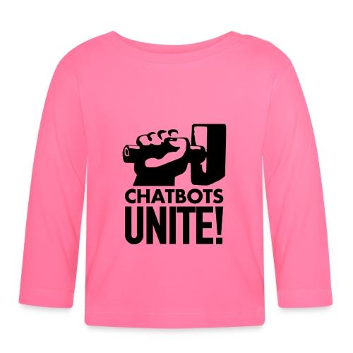 ChatbotsUnite - T-shirt manches longues Bébé