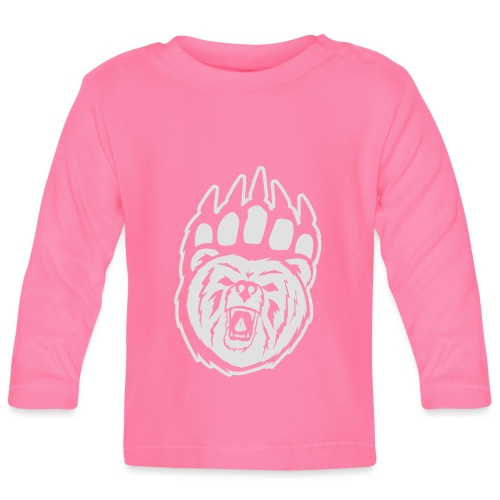 Dam T-shirt Svart/Rosa - Långärmad T-shirt baby