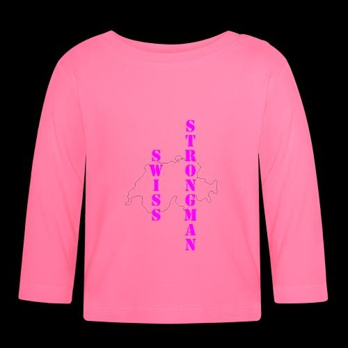 Swiss FSA T Shirt Swiss Strongman 1 - Baby Langarmshirt