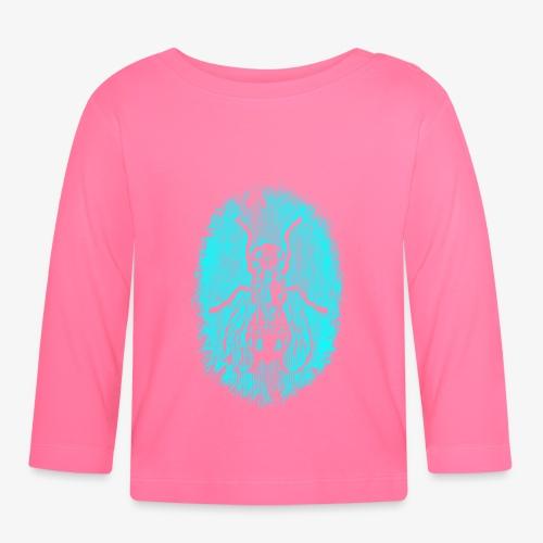 Fluga Turquoise - Långärmad T-shirt baby