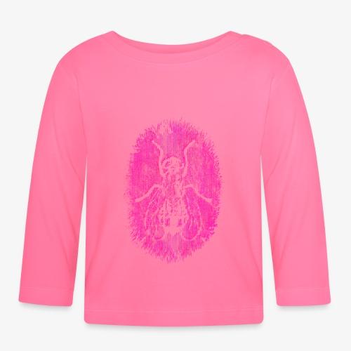 Fluga Pink - Långärmad T-shirt baby