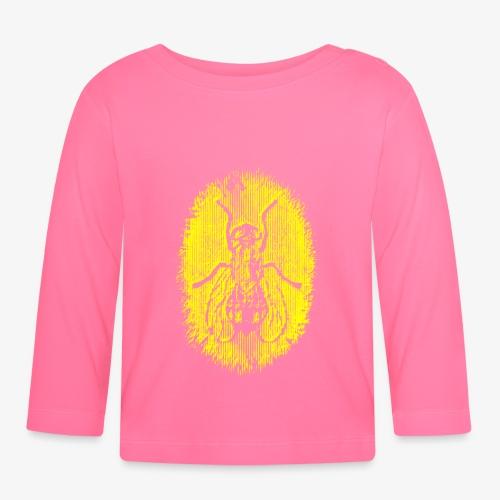 Fluga Yellow - Långärmad T-shirt baby